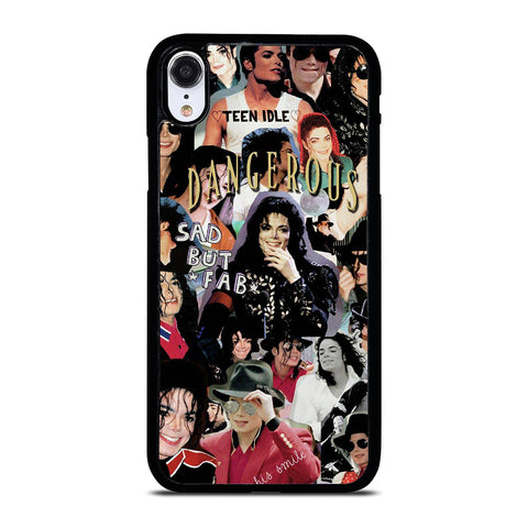 MICHAEL JACKSON COLLAGE iPhone XR Case Cover