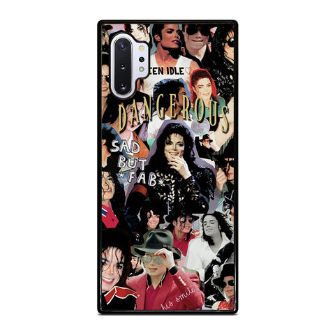 MICHAEL JACKSON COLLAGE Samsung Galaxy Note 10 Plus Case Cover