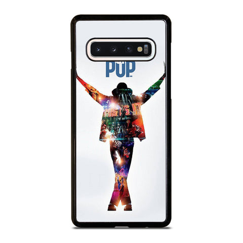 MICHAEL JACKSON KING OF POP Samsung Galaxy S10 Case Cover
