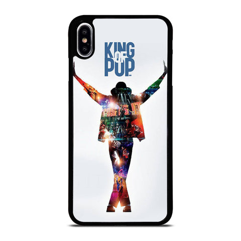 MICHAEL JACKSON KING OF POP iPhone XS Max Case Cover