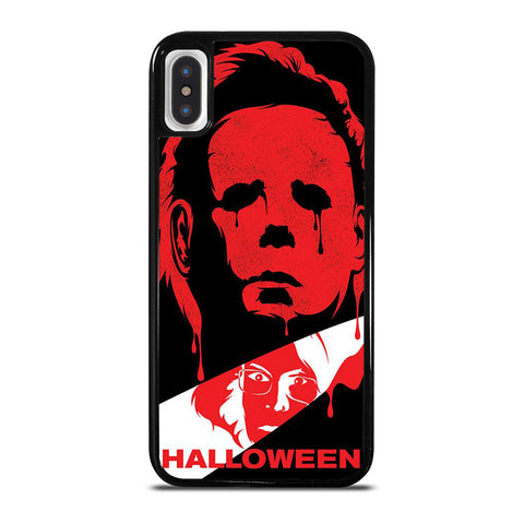 MICHAEL MYERS HALLOWEEN CLIP ART iPhone X / XS Case Cover