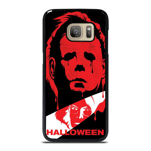 MICHAEL MYERS HALLOWEEN CLIP ART Samsung Galaxy S7 Case Cover