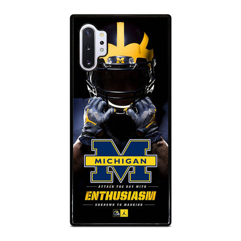 MICHIGAN WOLVERINES Samsung Galaxy Note 10 Plus Case Cover