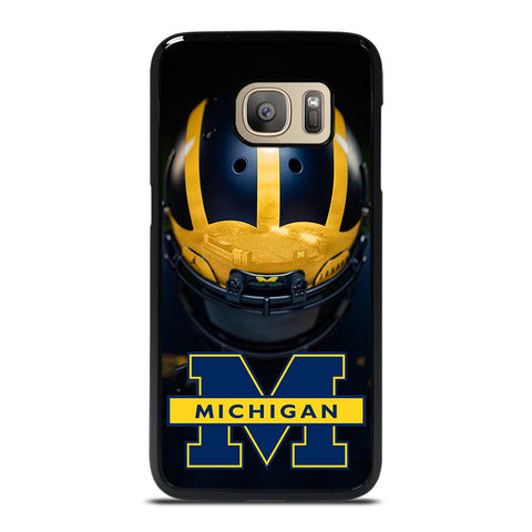 MICHIGAN WOLVERINES HELMET Samsung Galaxy S7 Case Cover