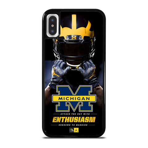 MICHIGAN WOLVERINES iPhone X / XS Case Cover