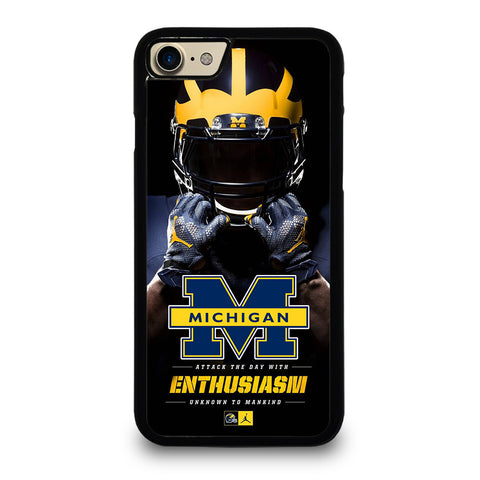 MICHIGAN WOLVERINES iPhone 7 / 8 Case Cover