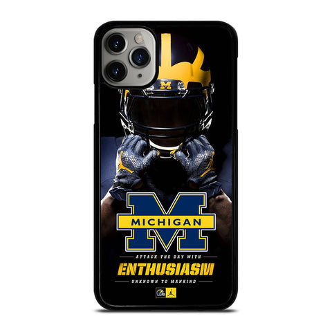 MICHIGAN WOLVERINES iPhone 11 Pro Max Case Cover