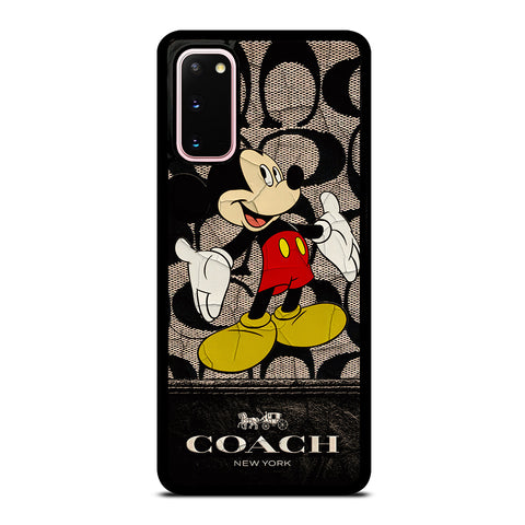 MICKEY MOUSE COACH NEW YORK Samsung Galaxy S20 Case Cover