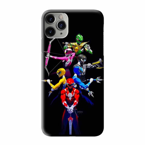MIGHTY MORPHIN POWER RANGERS iPhone 3D Case Cover