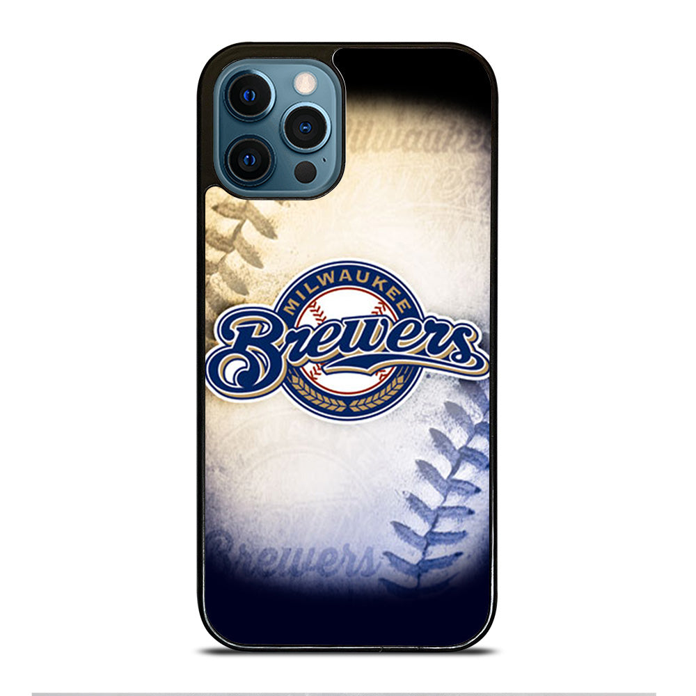 MILWAUKEE BREWERS MLB LOGO iPhone 12 Pro Max Case Cover - Casesummer