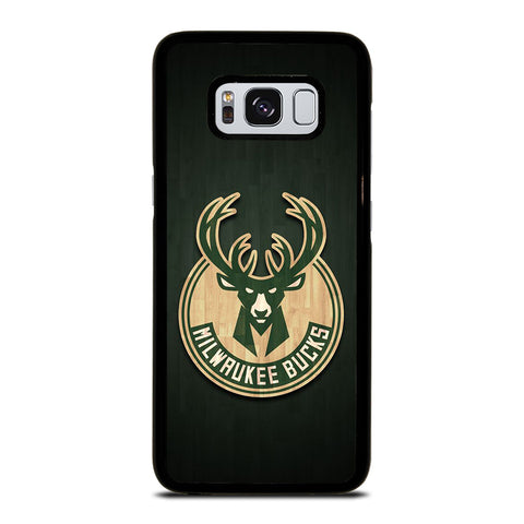 MILWAUKEE BUCKS WOODEN LOGO Samsung Galaxy S8 Case Cover