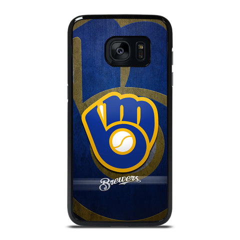 MILWAUKEE BREWERS MLB Samsung Galaxy S7 Edge Case Cover