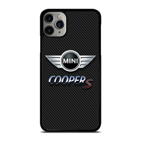 MINI COOPER S CARBOON iPhone 11 Pro Max Case Cover