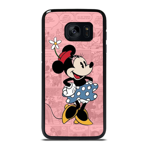 MINNIE MOUSE DISNEY COMIC Samsung Galaxy S7 Edge Case Cover