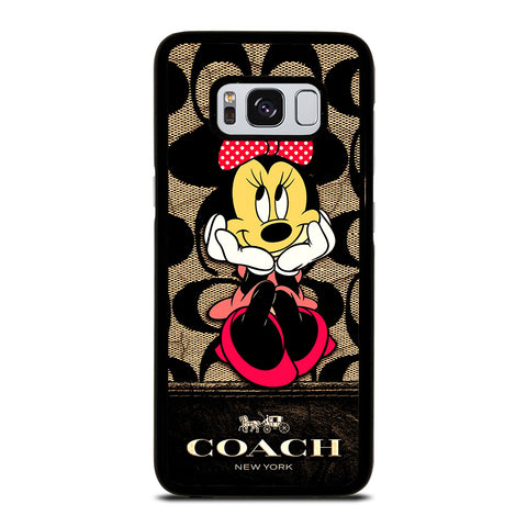 MINNIE MOUSE COACH Samsung Galaxy S8 Case Cover