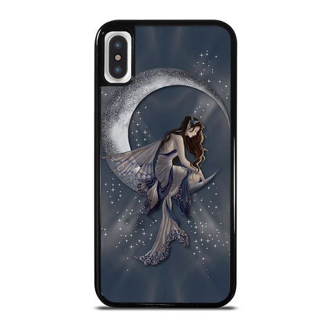 MOON FAIRY DRAGONFLY ART iPhone X / XS Case Cover