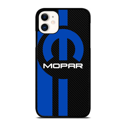 MOPAR CARBON LOGO iPhone 11 Case Cover