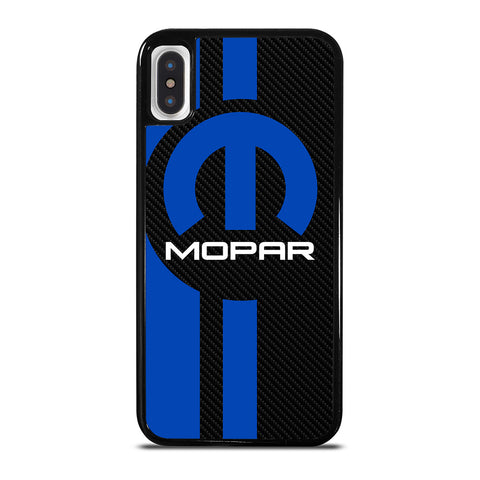 MOPAR CARBON LOGO iPhone X / XS Case Cover