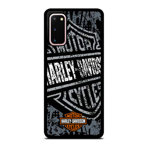 MOTORCYCLES HARLEY DAVIDSON LOGO Samsung Galaxy S20 Case Cover