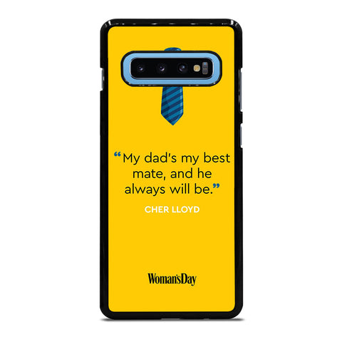 MY DAD'S MY BEST MATE Samsung Galaxy S10 Plus Case Cover