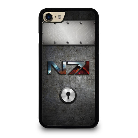 N7 MASS EFFECT METAL LOGO iPhone 7 / 8 Case Cover