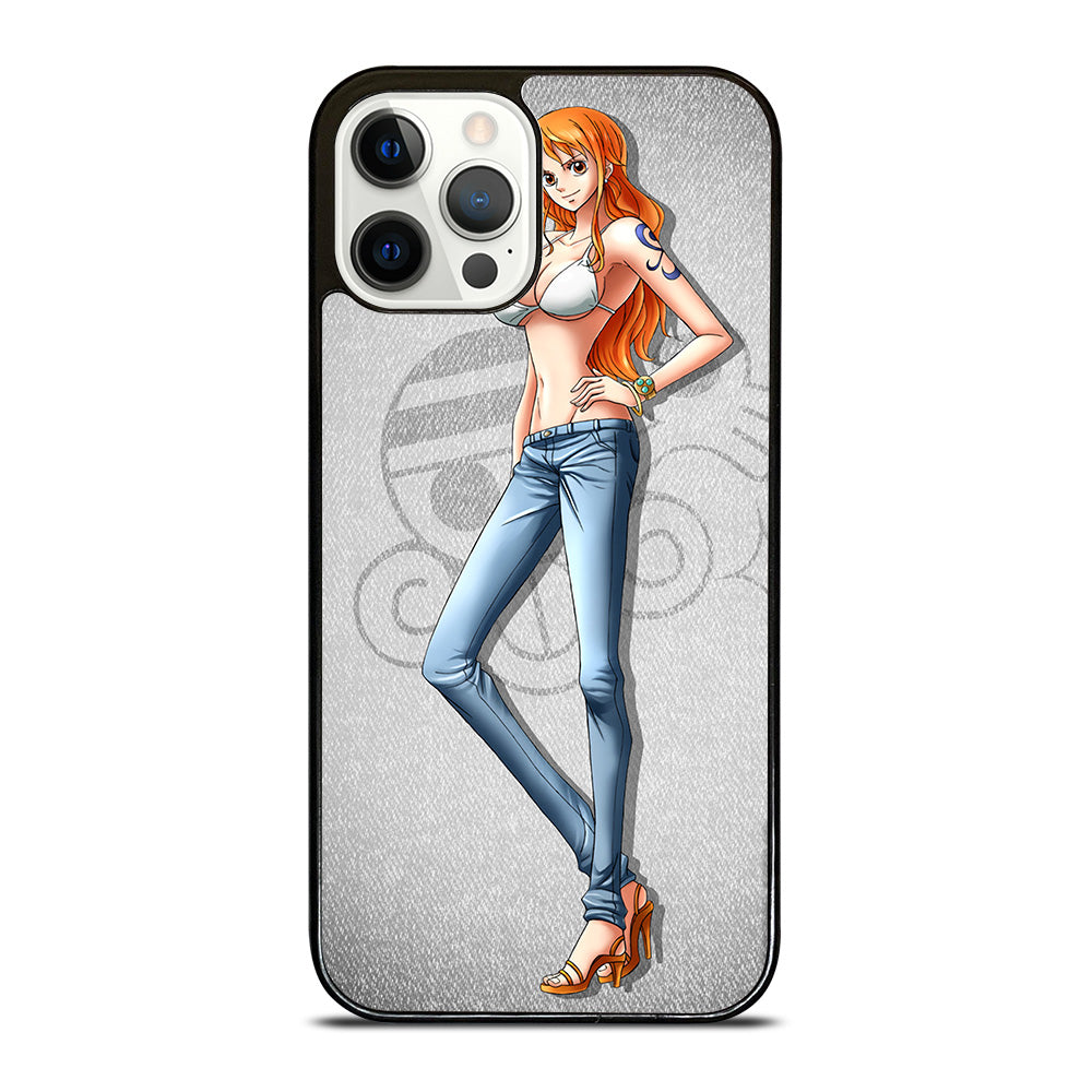 NAMI SEXY ONE PIECE iPhone 12 Pro Case Cover - Casesummer