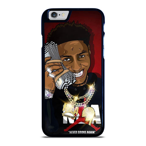 NBA YOUNGBOY NEVER BROKE AGAIN iPhone 6 / 6S Case Cover