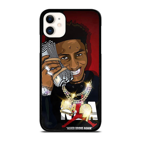 NBA YOUNGBOY NEVER BROKE AGAIN iPhone 11 Case Cover