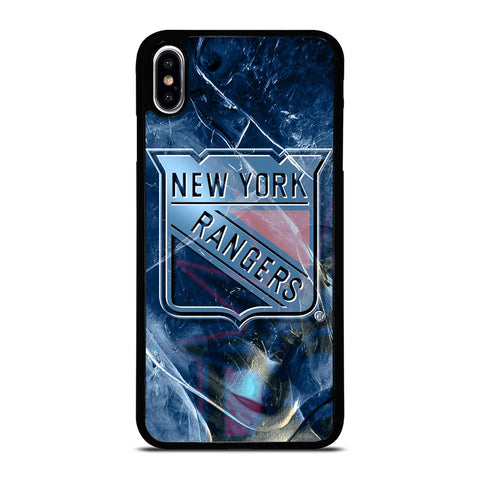 NEW YORK RANGERS NHL SYMBOL iPhone XS Max Case Cover