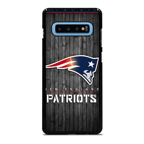 NEW ENGLAND PATRIOTS WOODEN LOGO Samsung Galaxy S10 Plus Case Cover