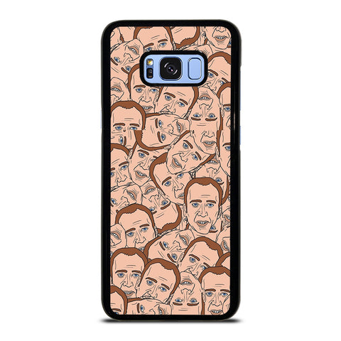 NICOLAS CAGE CARTOON COLLAGE Samsung Galaxy S8 Plus Case Cover