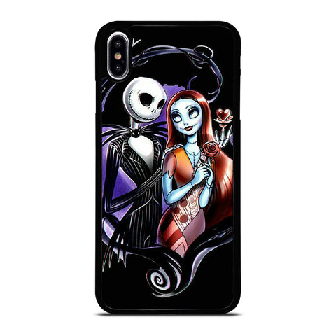 NIGHTMARE BEFORE CHRISTMAS CARTOON iPhone XS Max Case Cover