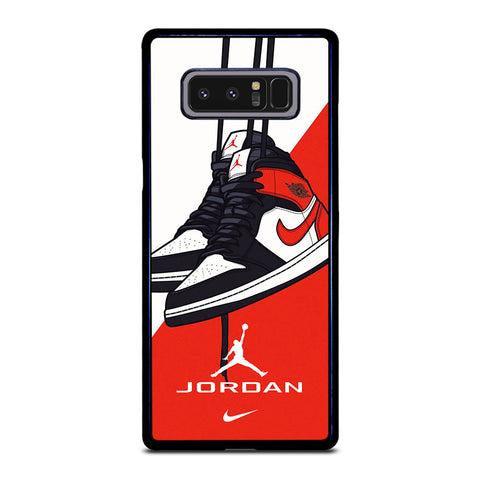 NIKE AIR JORDAN SNEAKERS Samsung Galaxy Note 8 Case Cover