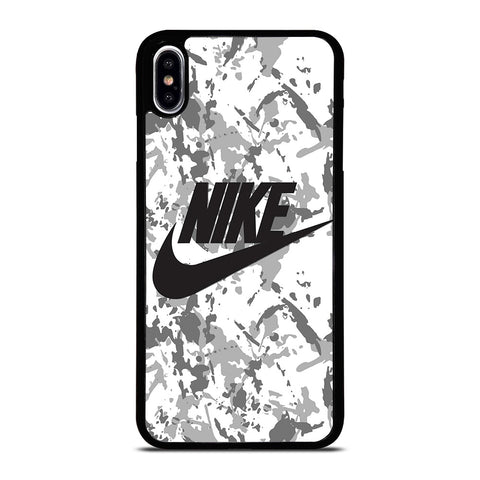 NIKE CAMO LOGO iPhone XS Max Case Cover