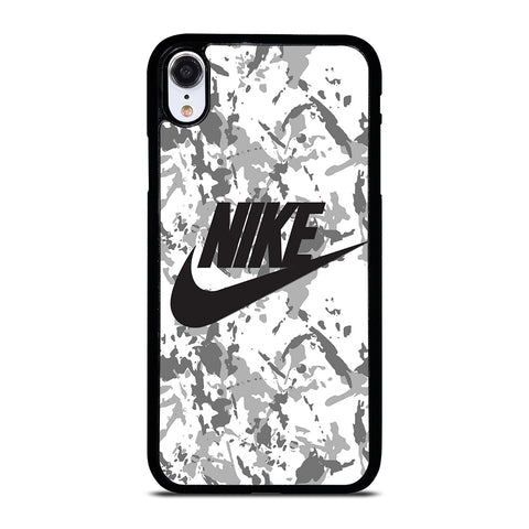 NIKE CAMO LOGO iPhone XR Case Cover