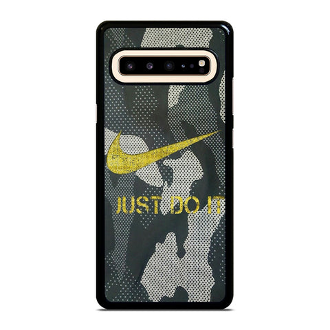 NIKE JUST DO IT CAMO Samsung Galaxy S10 5G Case Cover