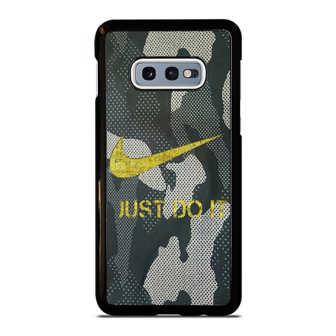 NIKE JUST DO IT CAMO Samsung Galaxy S10e Case Cover