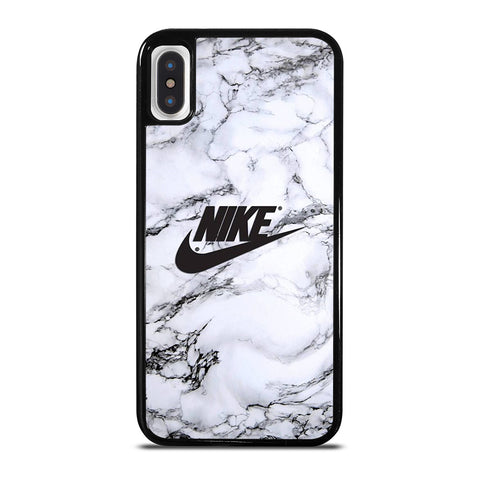 NIKE LOGO MARBLE iPhone X / XS Case Cover