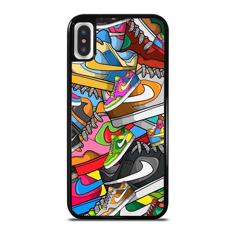 NIKE SNEAKERS iPhone X / XS Case Cover