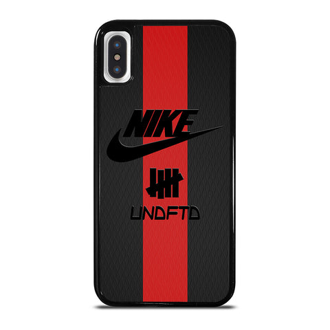 NIKE X UNDEFEATED LOGO iPhone X / XS Case Cover