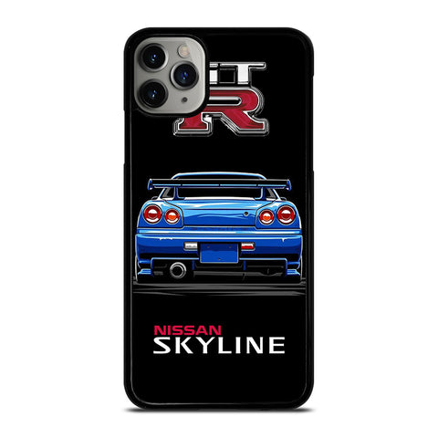 NISSAN SKYLINE GTR iPhone 11 Pro Max Case Cover