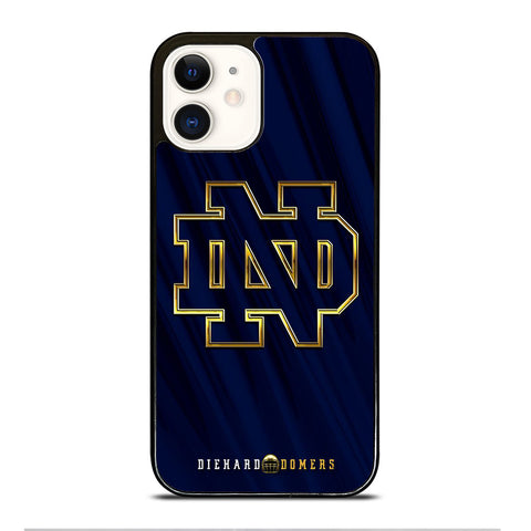 NOTRE DAME ND FOOTBALL LOGO iPhone 12 Case Cover