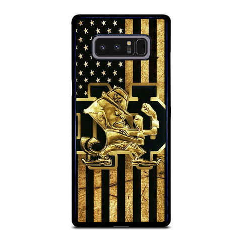 NOTRE DAME FIGHTING IRISH GOLD Samsung Galaxy Note 8 Case Cover