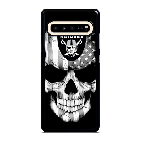 OAKLAND RAIDERS SKULL Samsung Galaxy S10 5G Case Cover
