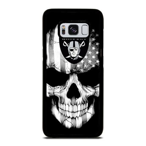 OAKLAND RAIDERS SKULL Samsung Galaxy S8 Case Cover