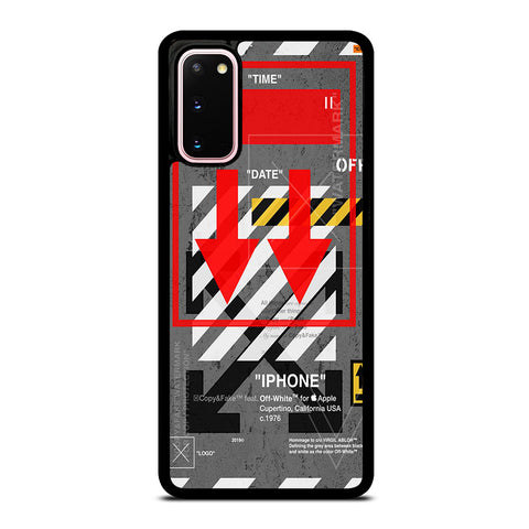 OFF WHITE ARROW DOWN Samsung Galaxy S20 Case Cover