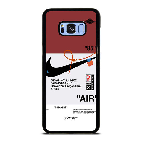 OFF WHITE NIKE AIR JORDAN SNEAKERS Samsung Galaxy S8 Plus Case Cover