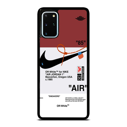OFF WHITE NIKE AIR JORDAN SNEAKERS Samsung Galaxy S20 Plus Case Cover
