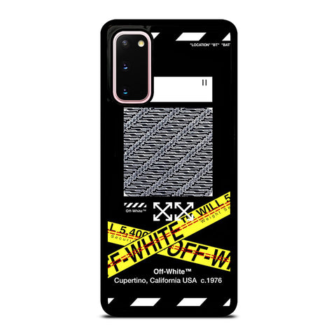 OFF WHITE X BATIK Samsung Galaxy S20 Case Cover