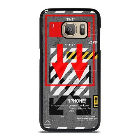 OFF WHITE ARROW DOWN Samsung Galaxy S7 Case Cover